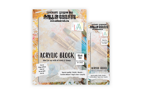 Acrylic Block Pack