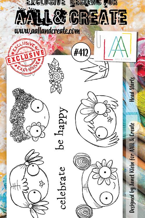 A6 Stamp set #412