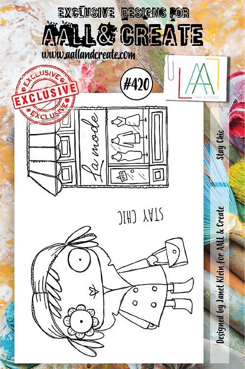 A7 Stamp set #420