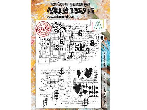A4 Stamp set #113