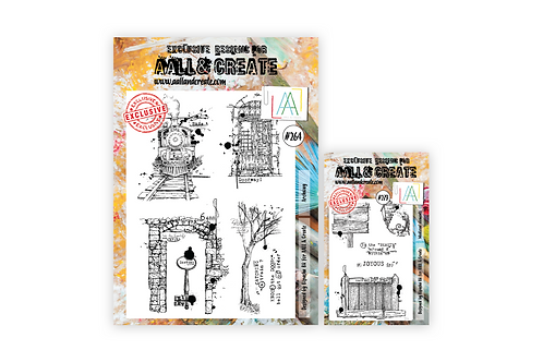 Bipasha's Archway A4 + A6 stamp sets