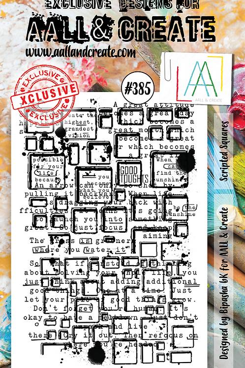 A6 Stamp set #385