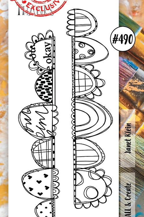 Border Stamp set #490