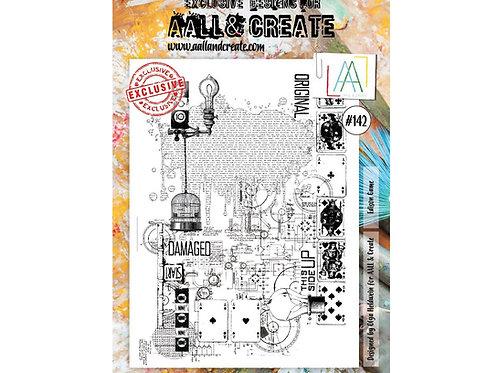 A4 Stamp set #142