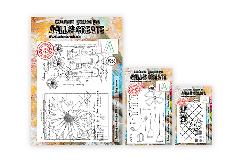 Tracy's Flower Pack 3 Stamp Sets