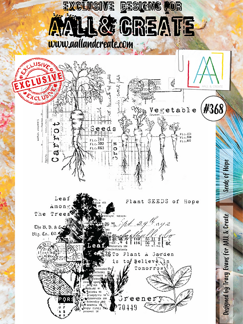 A4 Stamp set #368