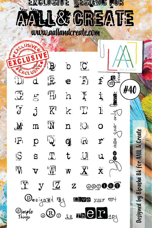 Clear Stamps #40 by Bipasha Bk
