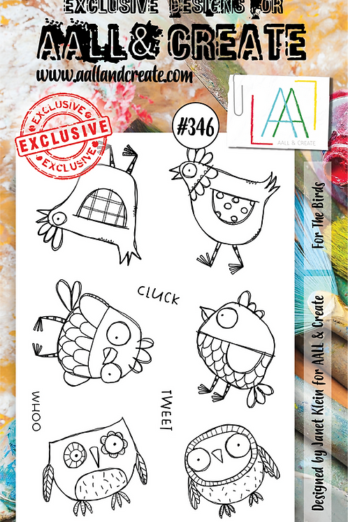 A6 Stamp set #346