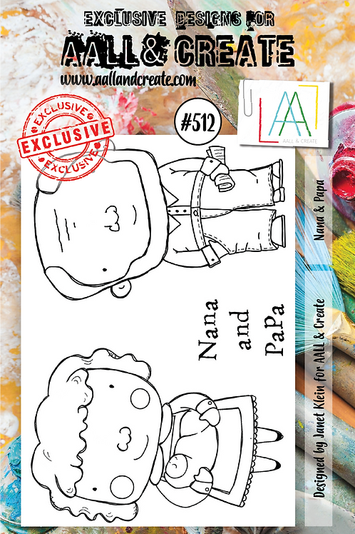 A7 Stamp set #512
