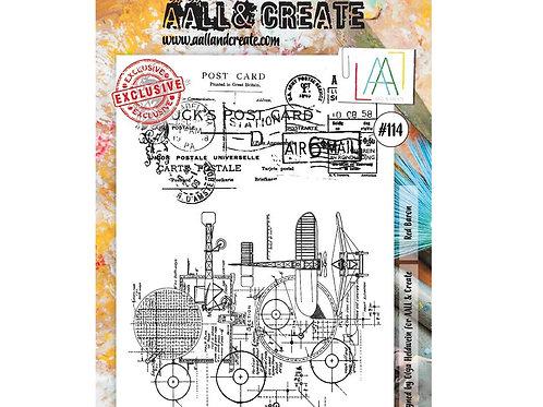 A4 Stamp set #114