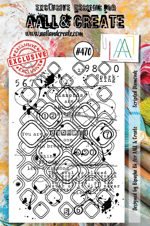A7 Stamp set #470