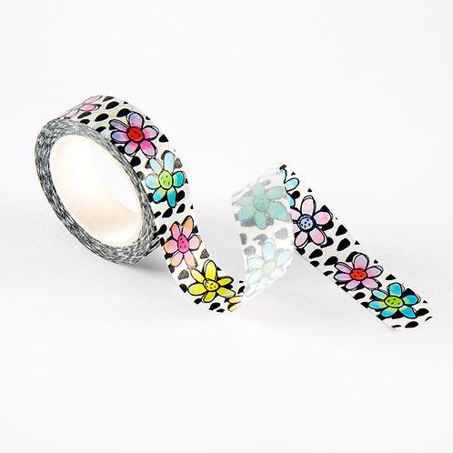 Washi Tape #22 - Flower Dancing