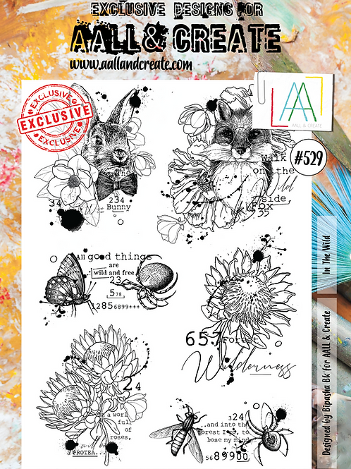 A4 Stamp set #529