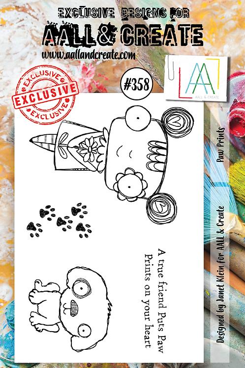A7 Stamp set #358