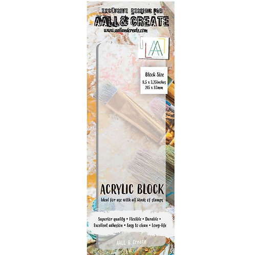 Border Acrylic Block