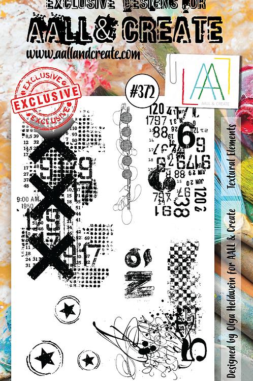 A6 Stamp set #372