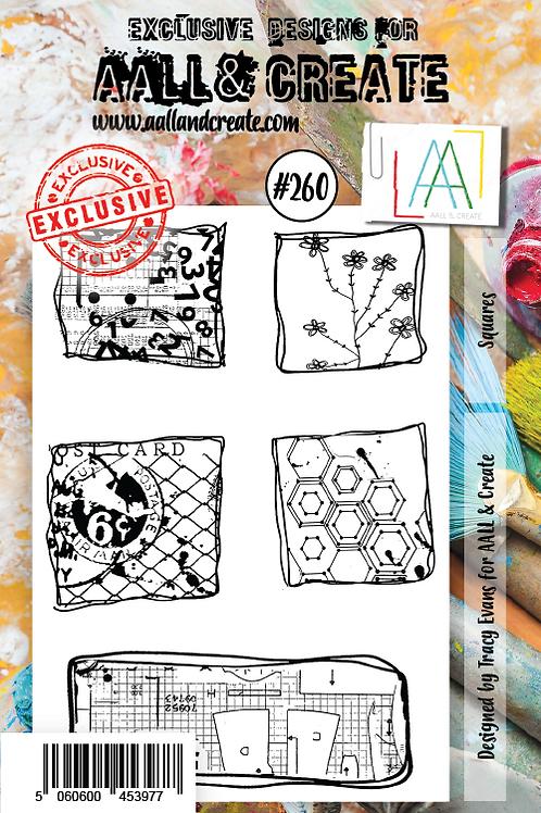 A7 stamp set #260