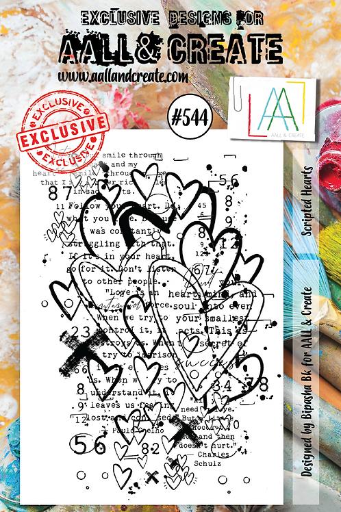 A7 Stamp set #544
