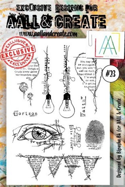 Clear Stamps #23 by Bipasha Bk