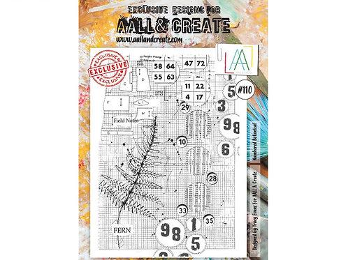 A4 Stamp set #110