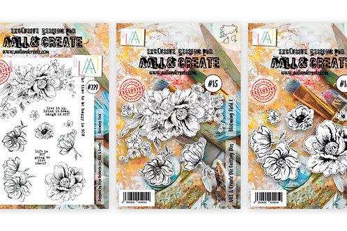 A4 Stamp set #229 + Matching Dies #15 #16