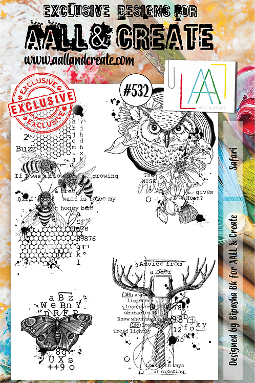 A5 Stamp set #532
