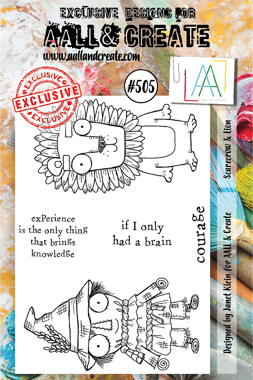 A7 Stamp set #505
