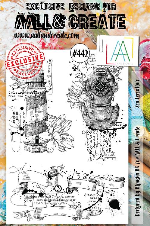 A5 Stamp set #442