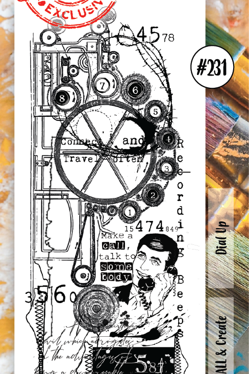 Border stamp set #231