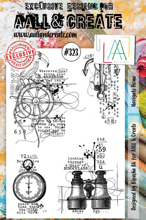 A4 Stamp set #323