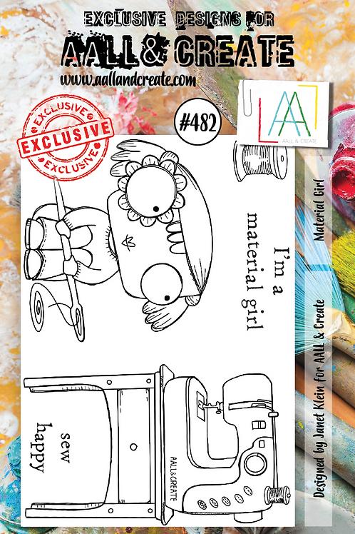 A7 Stamp set #482