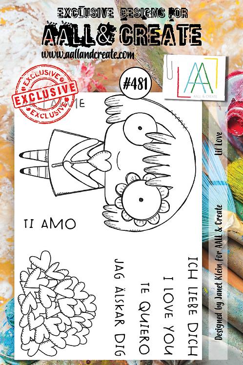 A7 Stamp set #481