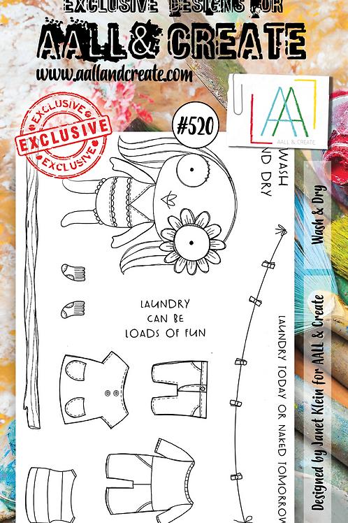 A6 Stamp set #520