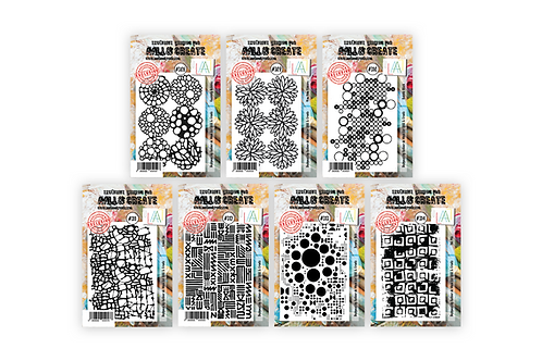 Abs' 7 NEW A7 Background Stamps