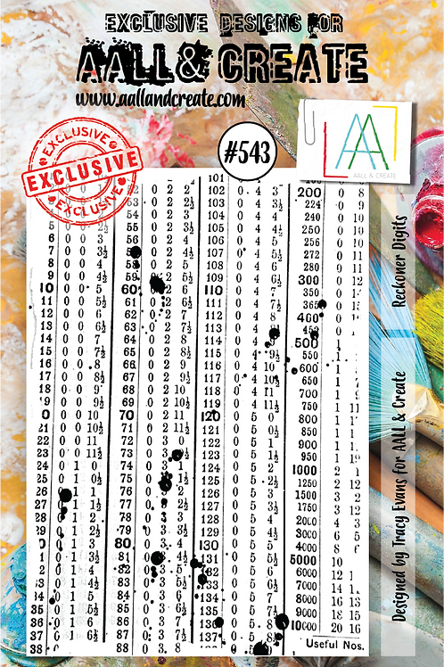 A7 Stamp set #543