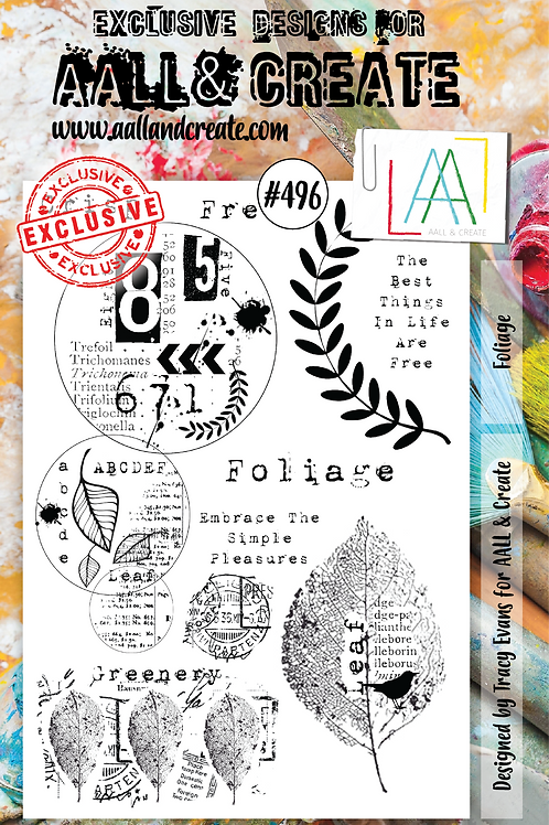 A5 Stamp set #496