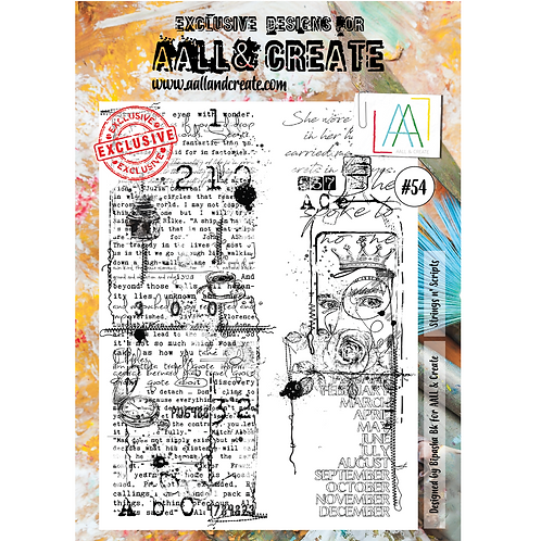 A4 Stamps #54 by Bipasha Bk