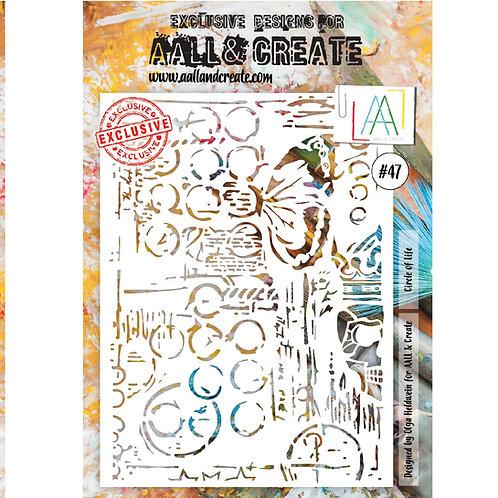 Stencil #47 A4 size