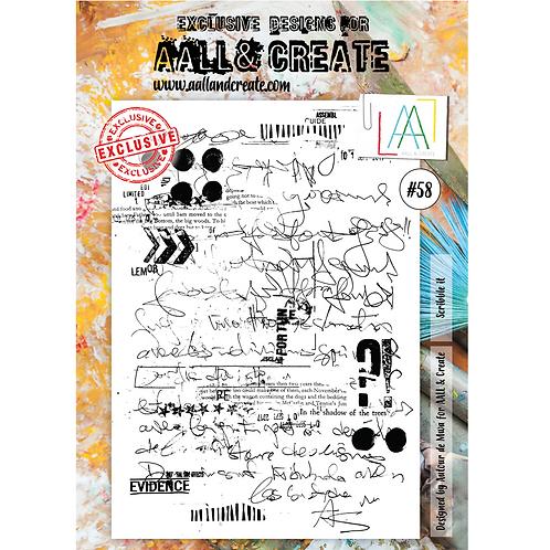 A4 Stamps #58 by Autour de Mwa