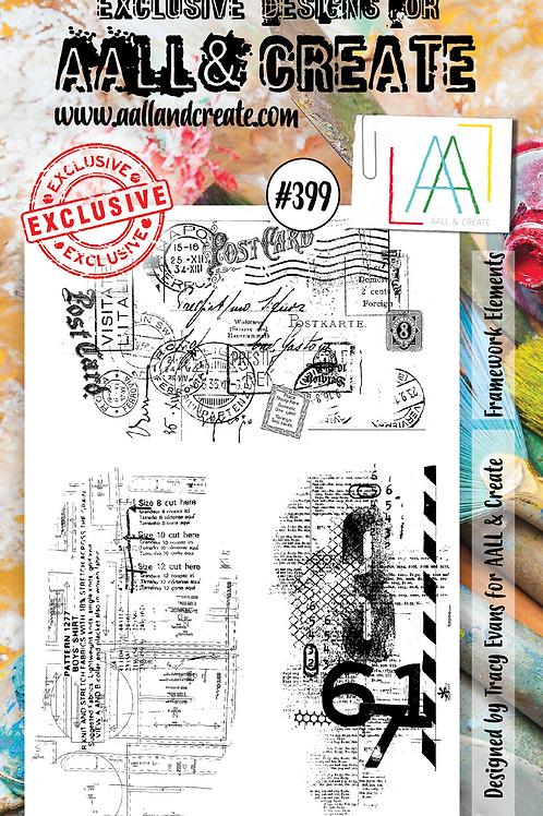 A6 Stamp set #399