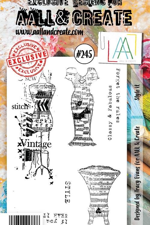 A6 stamp set #245