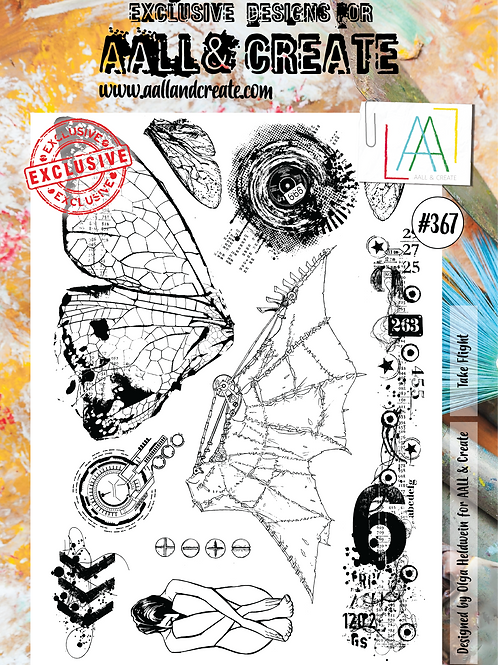 A4 Stamp set #367