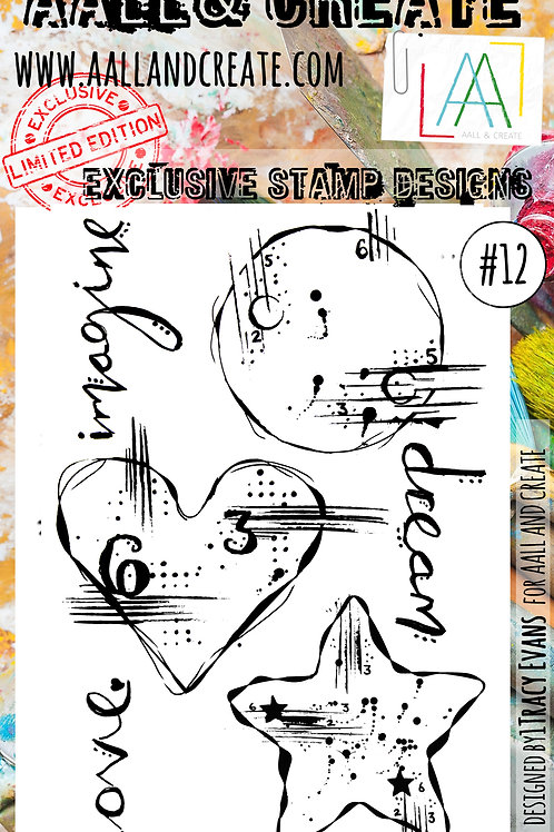 Clear Stamps #12 byTracy Evans