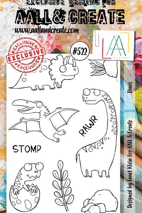 A6 Stamp set #522