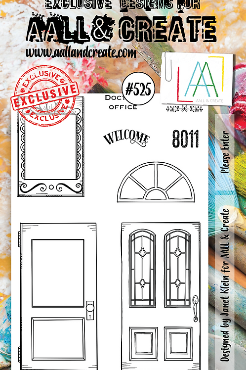 A6 Stamp set #525