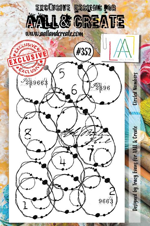 A7 Stamp set #352