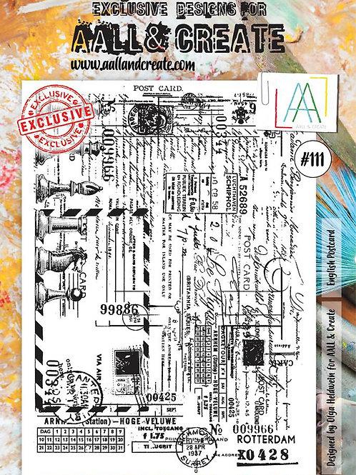 A4 Stamp set #111