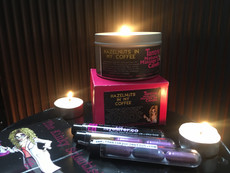 The Kinky Scientist stimulates desire with unique Australian-Made Tantric Candles and Glitter Caps!
