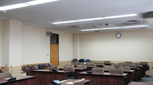 施工事例「大阪府泉南市役所様 大会議室」