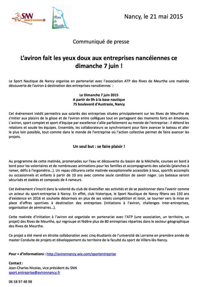 Défi inter-entreprise 7 Juin